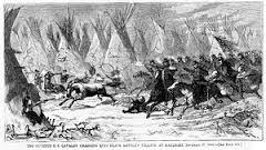 Escena de la Batalla de Washita River