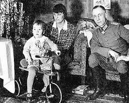 Manfred, Lucia y Erwin Rommel