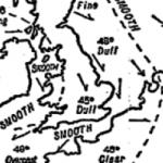 De cómo la guerra nos dio el primer mapa del tiempo.