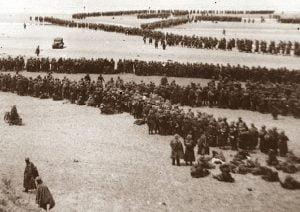 Tropas aliadas atrapadas en Dunquerque