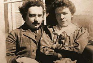 Albert Einstein y Mileva Maric