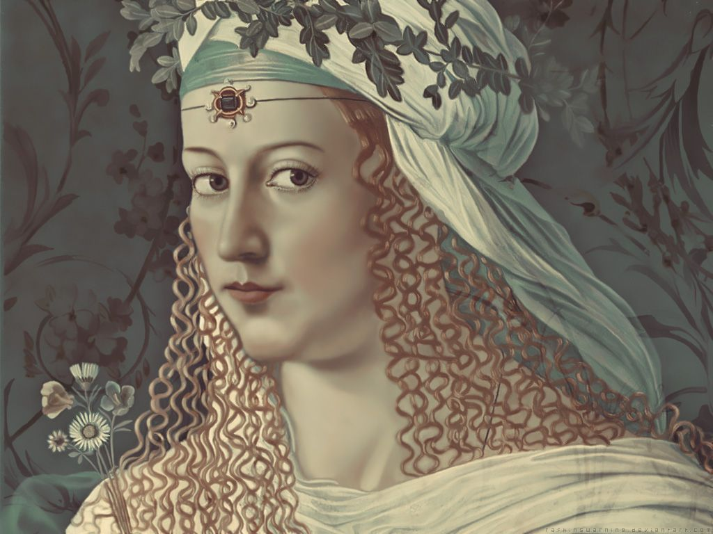 Posible retrato de Lucrecia Borgia