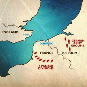 Cerco nazi en Dunkerque
