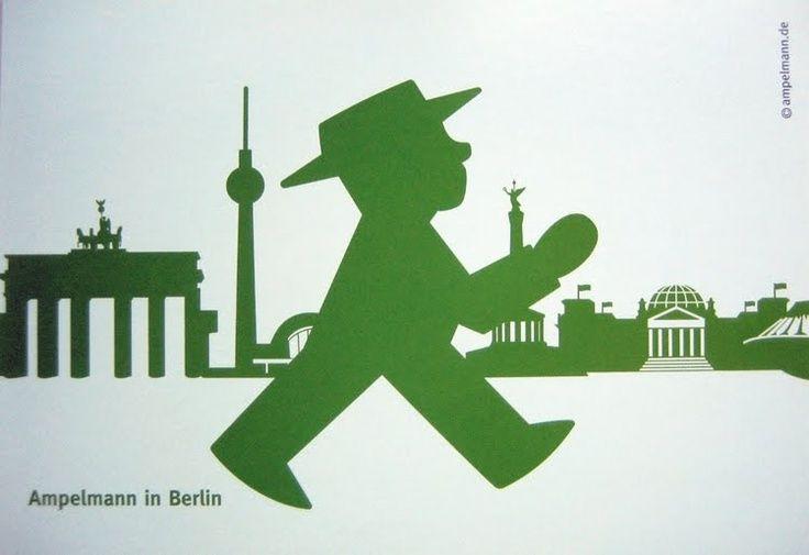 Ampelmann, el hombrecito verde