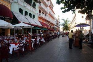 El Bar Palacio, en los portales de Veracruz