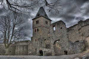 El Castillo Frankenstein, cerca de Darmstadt, Alemania