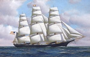 El Flying Cloud, un clipper