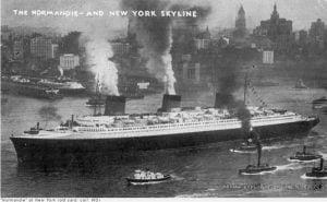El Normandie llega a Nueva York