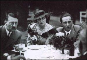 Hitler y el matrimonio Goebbels