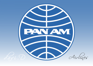 Logo Pan-Am airlines