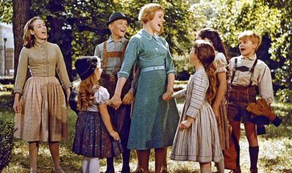 THe Sound of Music, la histpria de los von Trapp