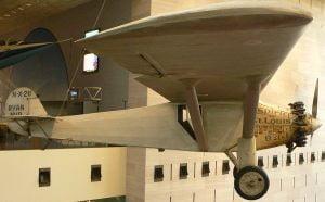 el Spirit of St. Louis, en la actualidad en el Museo Smithsonian, Washington, D.C.