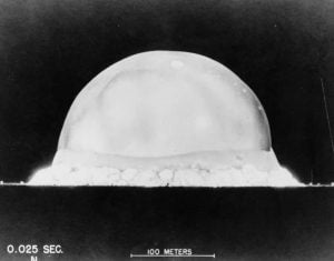 Trinity la primera bomba nuclear