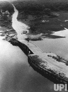 El camino y el puente de Chappaquiddick