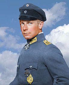 Ernst Udet piloto ww1