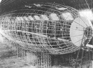 Estructura del Hindenburg
