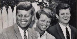 Jack, Bobby y Ted Kennedy