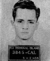 Charles Manson en uno de sus primeros arrestos