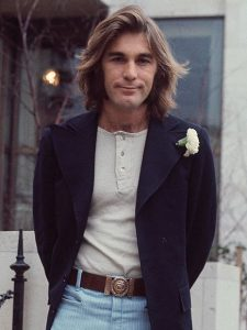 Dennis Wilson de The Beach Boys, Diciembre 1970.