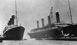 RMS Olympc y RMS Titanic