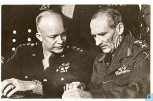 Eisenhower y Motngomery