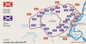 El cerco de Stalingrado