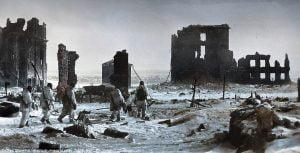 Stalingrado con nieve
