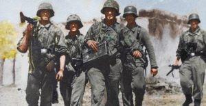 Soldados de la Wehrmacht