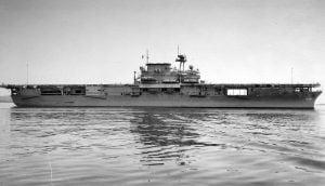 USS Yorktrown CV5