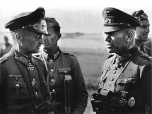 Walter Model y Heinz Guderian