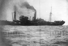 USS Barb en acción