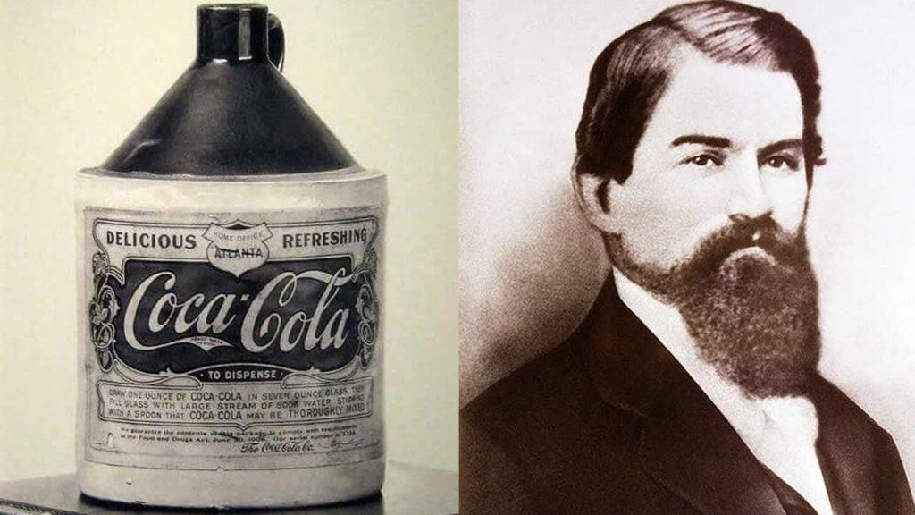 John Pemberton, inventor de Coca-Cola.